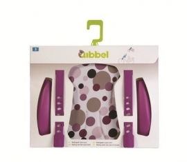 Qibbel Stylingset Voorzitje dots purple