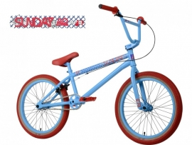 BMX SUNDAY AARON ROSS PRO - VAPOR BLUE / RED