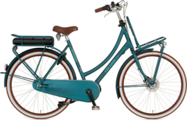 CORTINA E-U4 IRISH BLUE MATT 28 INCH MIDDENMOTOR 8 VERSNELLINGEN