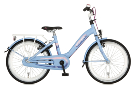 ALPINA GIRLPOWER MEISJESFIETS 22 INCH ALASKA BLUE MATT