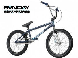 BMX SUNDAY BROADCASTER - MIDNIGHT BLUE / CHROME