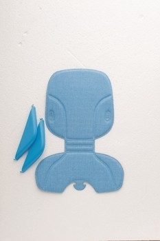 Polisport Stylingset Voorzitje Bubbly blauw