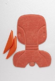 Polisport Stylingset Voorzitje Bubbly oranje