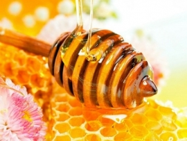 1 kg. Honing créme lichaamspakking - verkrijgbaar in lavendel en honing meloen