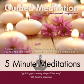 5 Minute meditations CD
