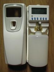 LCD spray geursysteem geschikt voor kleine ruimtes (navulbaar 300ml met sprayvloeistof voor LCD geurverstuiver)