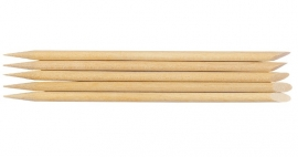 ca 10 stuks in zakje Bokkenpootjes hout