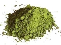 20 kg Groene klei super fijn (leem) poeder in zak