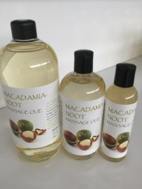 1 ltr. Macadamianoot Massage Olie + pomp