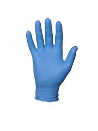 Nitrile handschoenen blauw ongepoederd (100pcs)