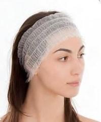 Wegwerp haarbanden per 100 verpakt in doos