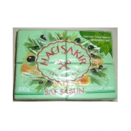 Haci sakir zeep  Honing / Olijfzeep 175 gram ( per  4 stuks verpakt)