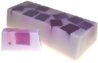 Handgemaakte design zeep ` Lovely Violet` 1,3 kilo