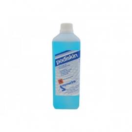 1 liter Podiskin chloorhexidine Hand- en huiddesinfectiemiddel met terugvettende werking.