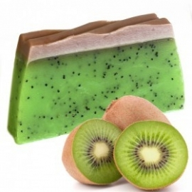 Handgemaakte design zeep `Kiwi` 1,3 kg.