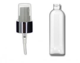 200 ml Pet fles met luxe zilveren verstuiver
