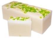 Handgemaakte design zeep ` Apple secret flower` 1,3 kilo