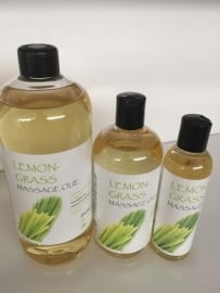 10 ltr.  Lemongrass massage olie