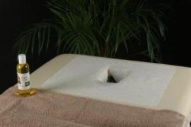 Hoofdsteuncovers met gezichtsuitsparing losse vellen voor op bank  (100 P.Zak, cwz3 ) (40x32cm)