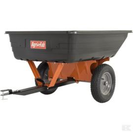 Aanhangwagen voor zitmaaier 295kg laadvermogen