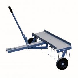 Grindhark  voor Zitmaaier 100 cm 18 pinnen Heavy Duty