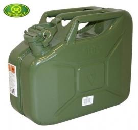 Stalen Jerrycan 10 liter