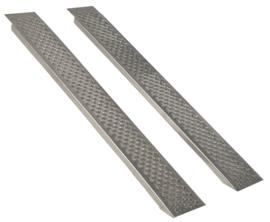 Oprijplaten voor Zitmaaier 250 cm - 1.000 kg Aluminium