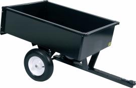 Aanhangwagen voor Zitmaaier 300 kg laadvermogen