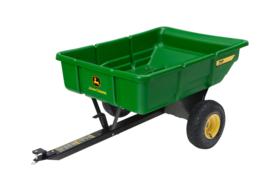 Aanhangwagen voor Zitmaaier 195 kg laadvermogen