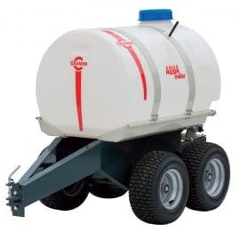 Aanhangwagen met Heavy Duty Water Tank voor Zitmaaier