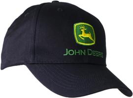 Cap John Deere Black