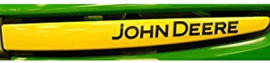 Sticker set motorkap John Deere X300R
