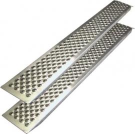 Oprijplaten voor Zitmaaier 450 kg draagvermogen, recht 150 cm