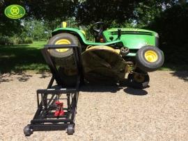 Hydraulische lift voor Zitmaaier tot 300 kg