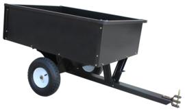 Aanhangwagen voor Zitmaaier 180 kg laadvermogen