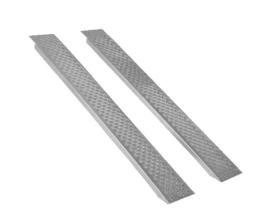 Oprijplaten voor Zitmaaier 150 cm - 400 kg  Aluminium