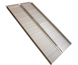 Oprijplaat 150 cm - 454 kg Aluminium Opklapbaar