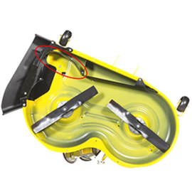 Mulch Control Kit voor John Deere X300 Serie Zitmaaiers 107 cm