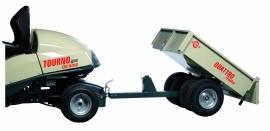 Aanhangwagen voor Zitmaaier 200 kg laadvermogen Heavy Duty