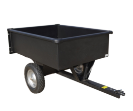 Aanhangwagen voor Zitmaaier 225 kg laadvermogen
