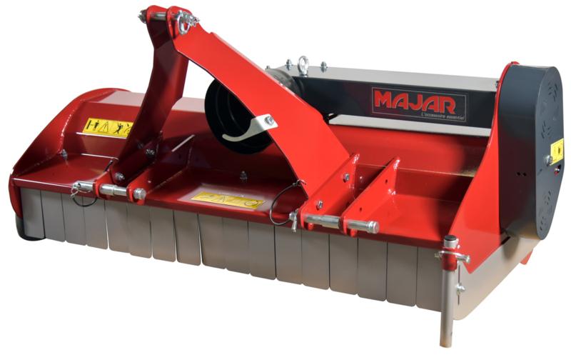Majar Klepelmaaier voor Compacttrekker 100 cm