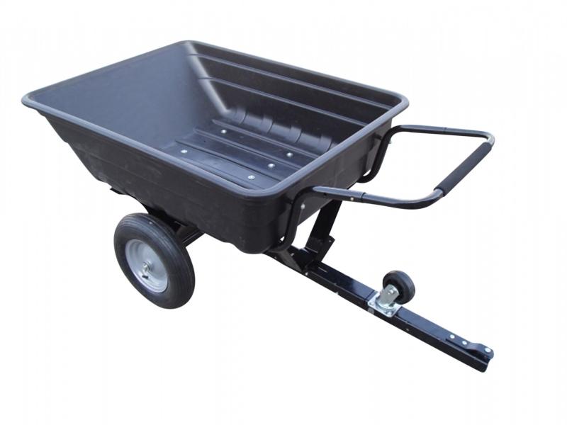 Aanhangwagen voor zitmaaier 250 kg laadvermogen
