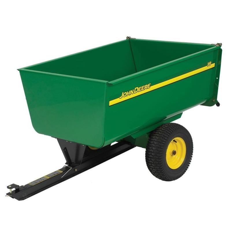 Aanhangwagen voor Zitmaaier 750 kg laadvermogen