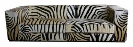 Kubus 3-zits zebrabank
