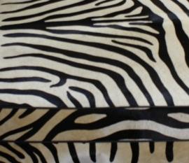 Zebraprint koeienhuid