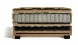 HB100 - vlakke boxspring