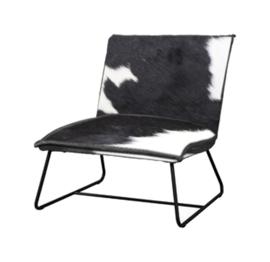 Vilar fauteuil in koeienhuid