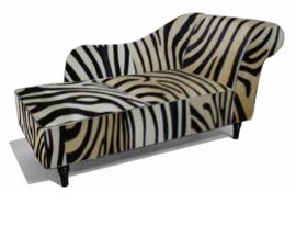 Josephine chaise longue 160cm, zebralook