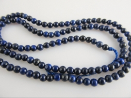 Lapis Lazuli ronde kraal donker 3 mm