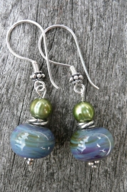 "Oorbellen ""Sea Glass"""